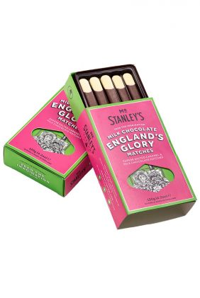 England's Glory Salted Caramel Matches